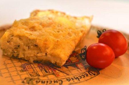 Пирог из лаваша с картошкой и сыром