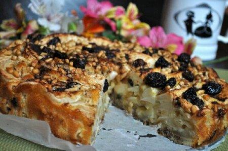 Яблочный пирог по-сицилийски