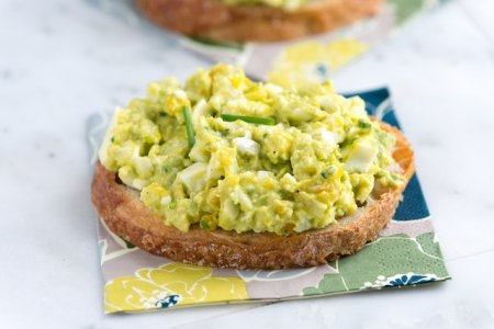 Зеленый бутерброд