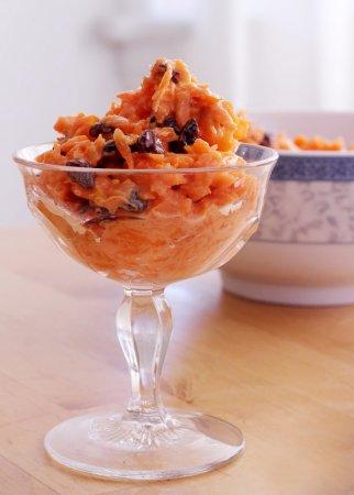 Морковный салат с кефиром