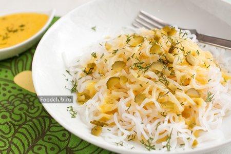 Обезжиренный сырный соус и ширатаки