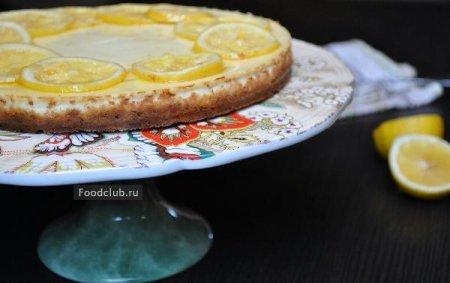Пирог с рикоттой и лимоном