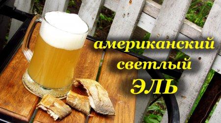 Американский светлый Эль - зерновое пивоварение