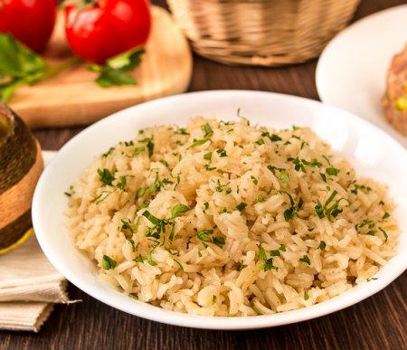 Пряный рис с зирой