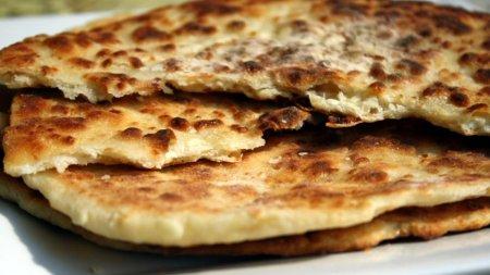 Лепешки с сыром на кефире