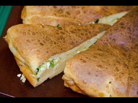 Как приготовить пирог с зеленым луком и яйцом