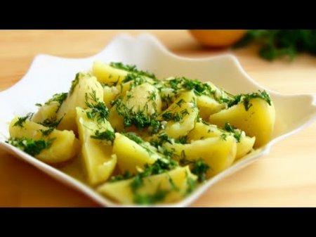 Лимонный картофель: летнее блюдо