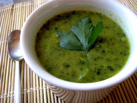 Летний суп из кабачков