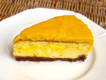 Лимонный чизкейк с маскарпоне
