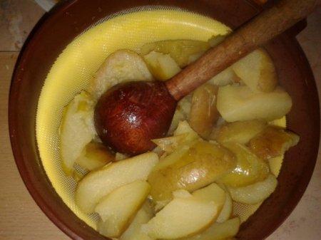 Яблочно-грушевое повидло
