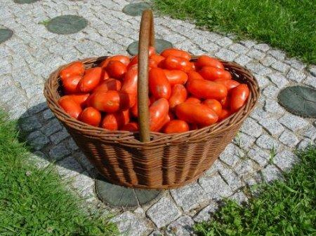 Резаные томаты на зиму