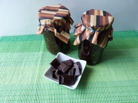 Сливовое варенье с шоколадом