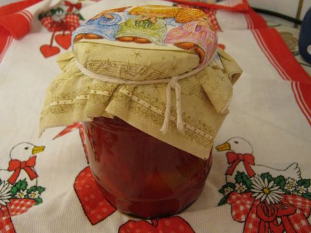Перец в томатно-чесночной заливке