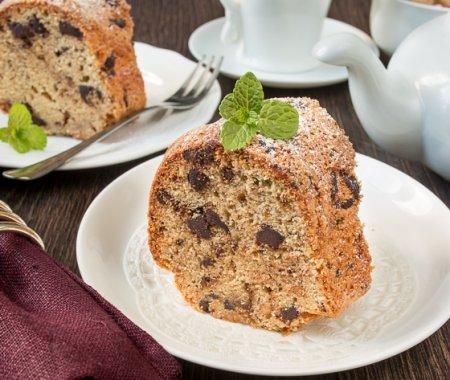 Кекс с коричневым сахаром и шоколадом