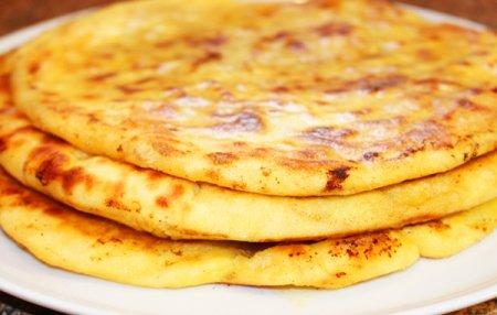 Сырная лепешка а-ля Хачапури