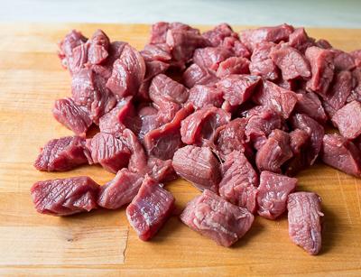 Рагу из говядины с цветной капустой