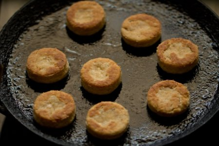 Печенье на скорую руку на сковороде