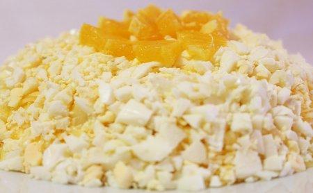 Праздничный салат из апельсинов