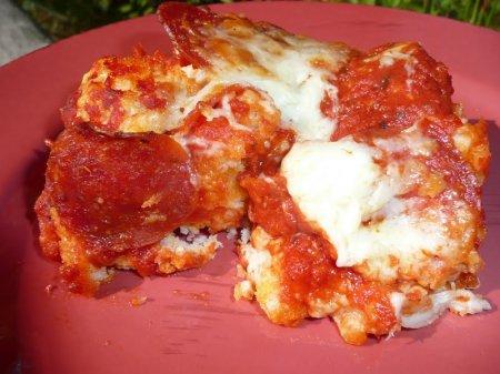 Быстрая домашняя пицца
