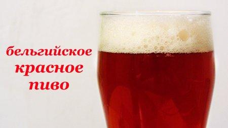 Рецепт пива, бельгийское красное. Домашнее пивоварение