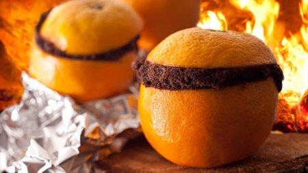 Шоколадный пирог в апельсинах