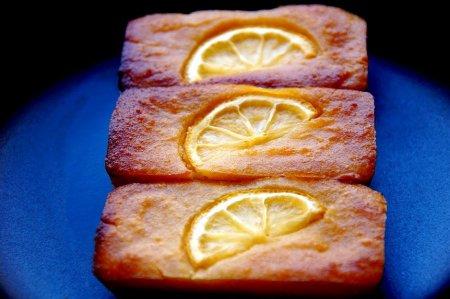 Французское печенье финансье с лимоном