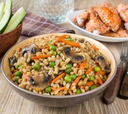 Рецепт салата из баранины и редьки