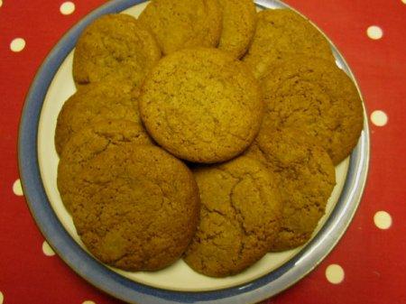 Медовое печенье на скорую руку