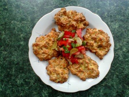Рубленные куриные котлеты с грибами и сыром