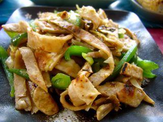 Простой китайский салат