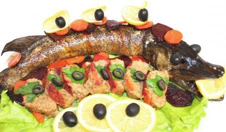 Щука фаршированная + Ленивая фаршированная рыба