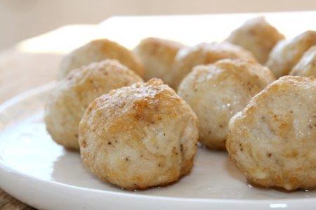 Куриные фрикадельки с сыром