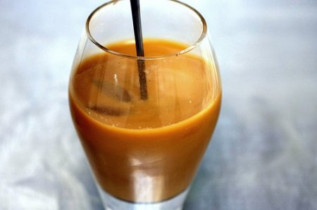 Апельсиновый кофе в микроволновке