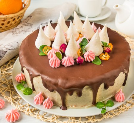 Халвичный торт