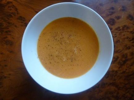 Суп из чечевицы в микроволновке