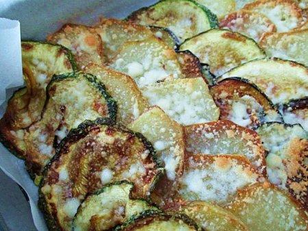 Картошка с кабачком и баклажаном