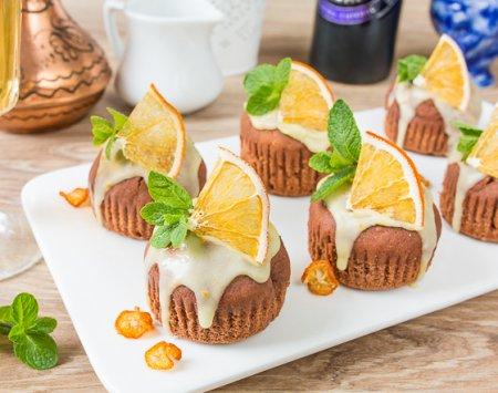 Шоколадно-картофельные кексы