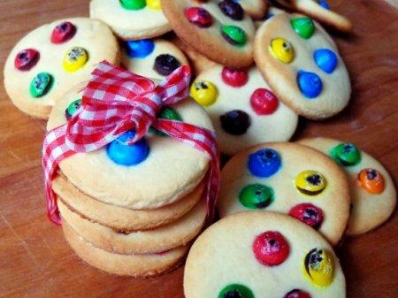 Печенье с драже