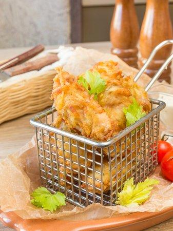 Куриные наггетсы в картофельной корочке
