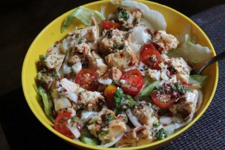Салат итальянский с курицей