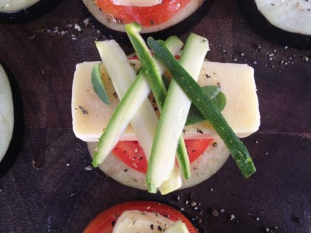 Сэндвичи из баклажанов на гриле