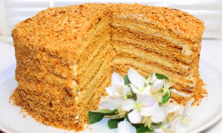Торт Медовик. Самый вкусный и бюджетный рецепт!