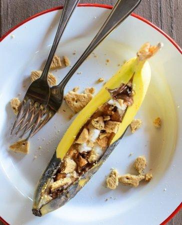 Запеченный банан