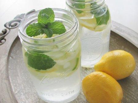 Коктейль «Лимон и мята»