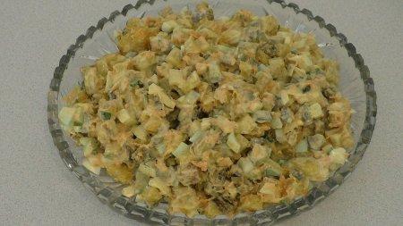 Рецепт картофельного салата по-американски