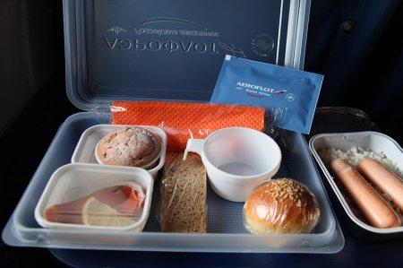 Пассажиры «Аэрофлота» назвали любимые блюда в бортовом меню
