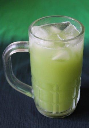 Огуречный напиток с мятой