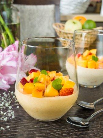 Персиковое желе