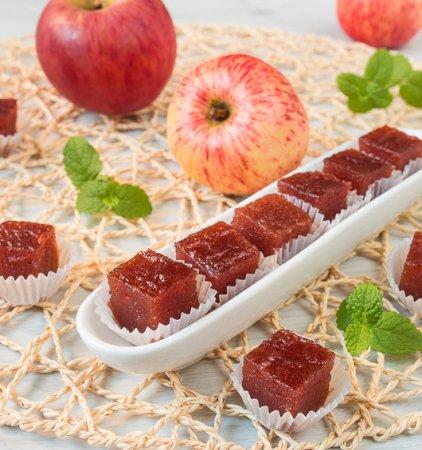 Яблочный пластовой мармелад