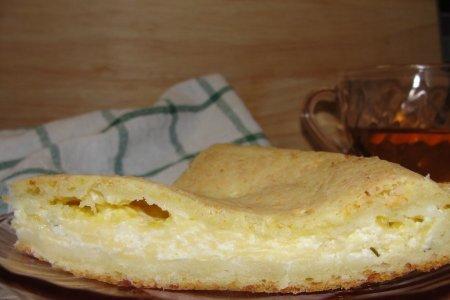 Закрытый пирог с сыром